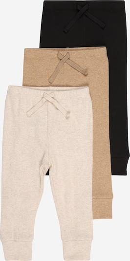 GAP Pantalon en crème / camel / noir, Vue avec produit