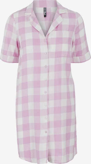 Pieces Maternity Nachthemd 'Amalie' in lila / weiß, Produktansicht