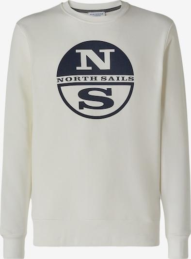 North Sails Sweatshirt in weiß, Produktansicht