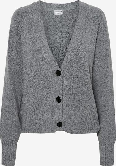 Noisy may Gebreid vest 'IAN' in de kleur Grijs, Productweergave