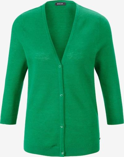 Basler Strickjacke in grün, Produktansicht