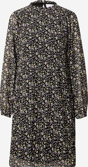 SISTERS POINT Košulja haljina 'VAIDA' u travnato zelena / ljubičasta / narančasta / crna: Prednji pogled