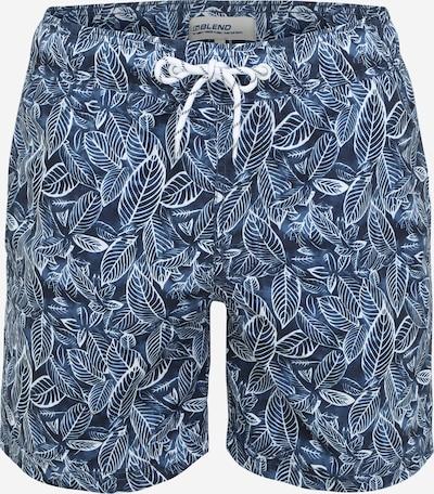 BLEND Plavecké šortky - tmavě modrá / bílá, Produkt