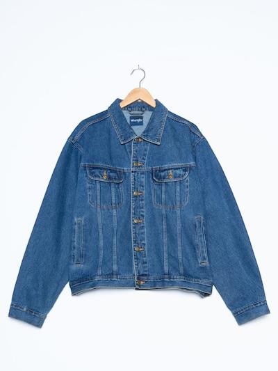 WRANGLER Jeansjacke in L-XL in blue denim, Produktansicht