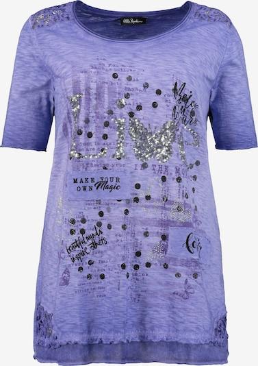 Ulla Popken Shirt in violettblau, Produktansicht