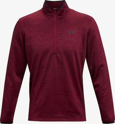 UNDER ARMOUR Funktionsshirt 'Armour Fleece' in anthrazit / dunkelrot, Produktansicht