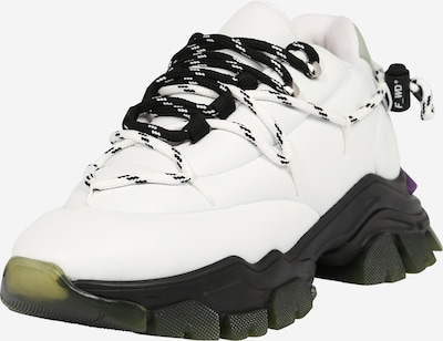 F_WD Zemie brīvā laika apavi 'XP5_ DOUBLE X', krāsa - melns / balts, Preces skats