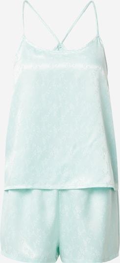 VERO MODA Pyjama 'NINA' in hellblau / weiß, Produktansicht