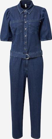 zils PULZ Jeans Kombinezons 'Cassi'