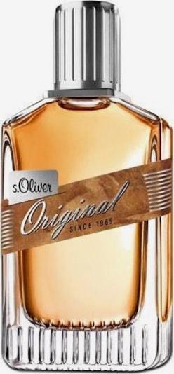 s.Oliver Eau de Toilette 'ORIGINAL MEN' in transparent, Produktansicht