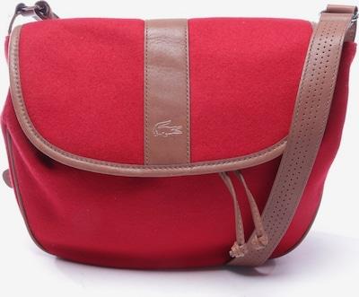 LACOSTE Umhängetasche in M in braun / rot, Produktansicht