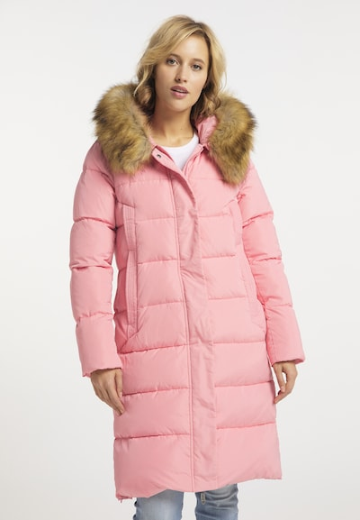 usha BLUE LABEL Wintermantel in rosa, Modelansicht