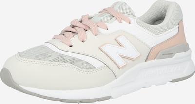 Scarpa sportiva new balance di colore crema / grigio / cipria / bianco, Visualizzazione prodotti