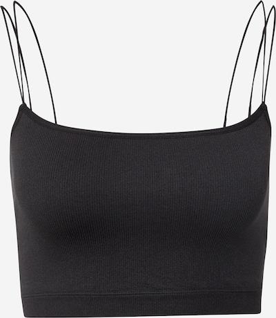 Gilly Hicks Bra 'Seamless Crochet Brami' in Black, Item view