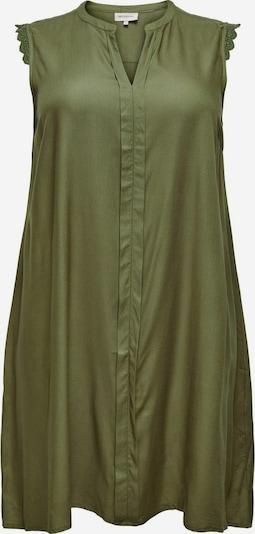 ONLY Carmakoma Kleid 'MUMI' in oliv, Produktansicht