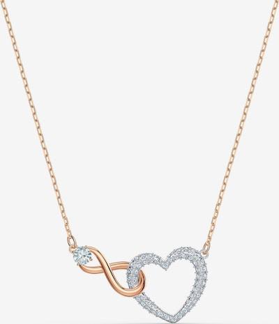 Swarovski Řetízek - růžově zlatá / stříbrná / průhledná, Produkt