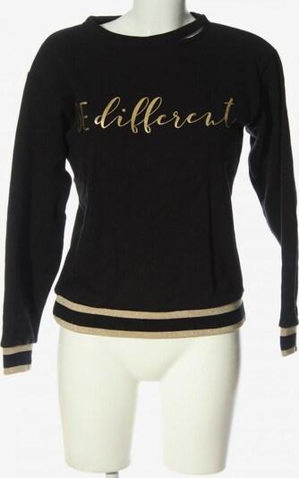 Kocca Sweatshirt in XS in pastellgelb / schwarz, Produktansicht