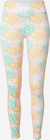DELICATELOVE Sports trousers 'Nadi' in Yellow / Mint / Pink / White, Item view