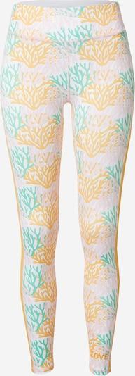 DELICATELOVE Sporthose 'Nadi' in gelb / mint / rosa / weiß, Produktansicht
