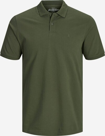 JACK & JONES Poloshirt 'JJEBASIC POLO SS' in oliv, Produktansicht