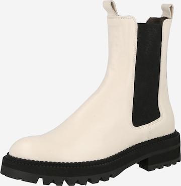 Billi Bi Chelsea-saapad, värv valge