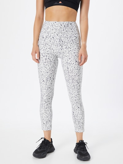 Pantaloni sport 'ELSA' Marika pe negru / alb, Vizualizare model