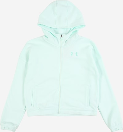 UNDER ARMOUR Sweatjacke 'Rival' in mint, Produktansicht