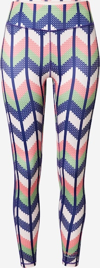 DELICATELOVE Sports trousers 'Nadi' in Blue / Mint / Pink / White, Item view