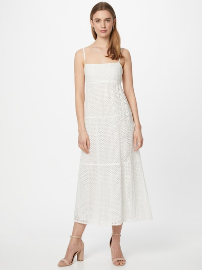 Rochie Bardot pe alb, Vizualizare model