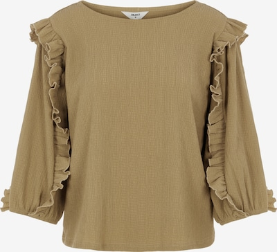 OBJECT Bluse in hellbraun, Produktansicht