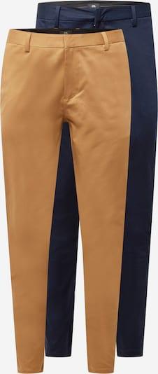 Pantaloni eleganți River Island pe nisipiu / bleumarin, Vizualizare produs