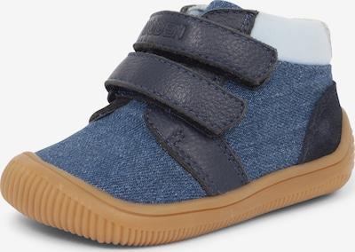 WODEN Kids Sneaker ' Tristan ' in blau / black denim, Produktansicht