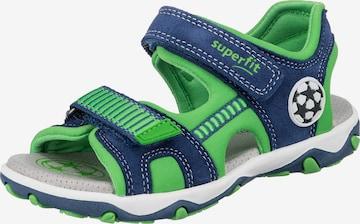 SUPERFIT Sandale in Blau