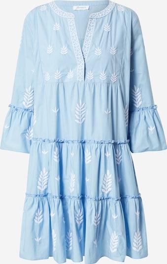 Rochie 'Embroidered' Flowers for Friends pe albastru deschis / alb, Vizualizare produs