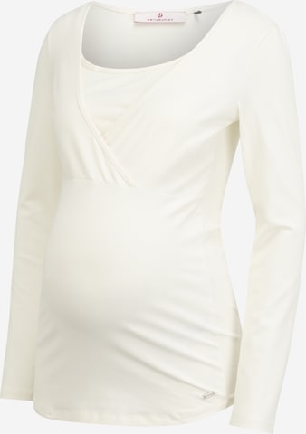 BELLYBUTTON Shirt 'TIMEA' in White