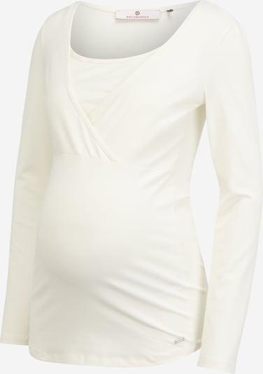Tricou 'TIMEA' BELLYBUTTON pe alb murdar, Vizualizare produs