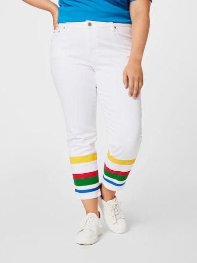 Jeans Lauren Ralph Lauren pe albastru / galben / verde / roșu / alb, Vizualizare model