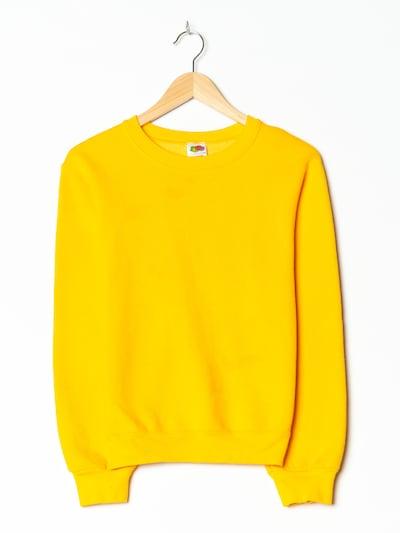 FRUIT OF THE LOOM Pullover in S-M in dunkelgelb, Produktansicht