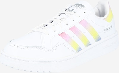 ADIDAS ORIGINALS Sneakers low 'Team Court' in Neon yellow / violet / mottled purple / White, Item view