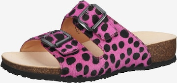 THINK! Mules in Pink