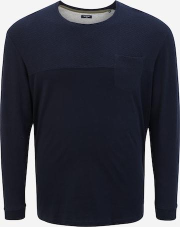 Sweat-shirt TOM TAILOR Men + en bleu