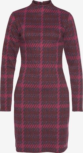 BRUNO BANANI Kleid in pink / rosa / weinrot / schwarz, Produktansicht