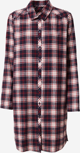 CALIDA Noční košilka - tmavě modrá / červená / bílá, Produkt