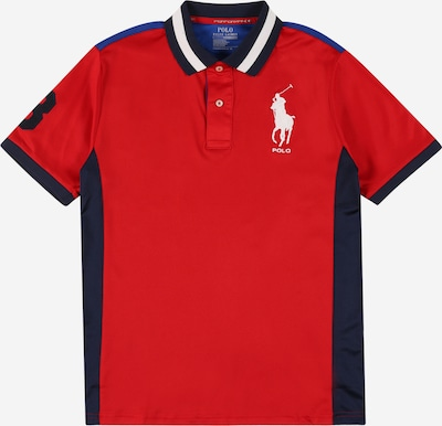 POLO RALPH LAUREN Tričko - modrá / tmavomodrá / červená, Produkt