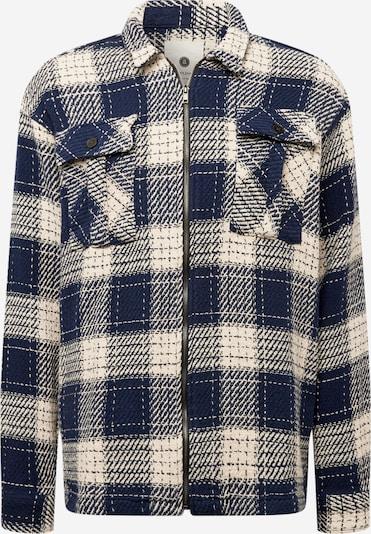 anerkjendt Overhemd 'KARSTEN' in de kleur Navy / Wit, Productweergave