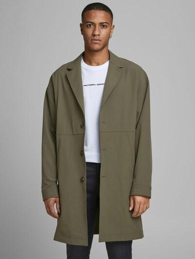 JACK & JONES Mantel in grün, Modelansicht