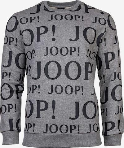 JOOP! Sweatshirt in graumeliert / schwarz, Produktansicht