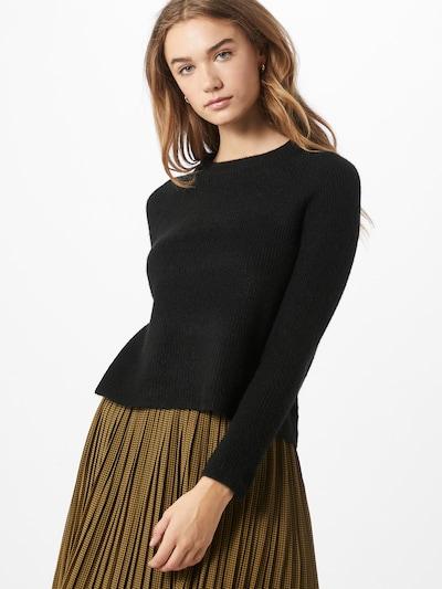 PIECES Pullover in schwarz, Modelansicht