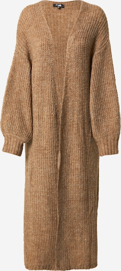 Palton tricotat Missguided pe mokka, Vizualizare produs