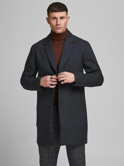 JACK & JONES Prechodný kabát - tmavomodrá, Model/-ka